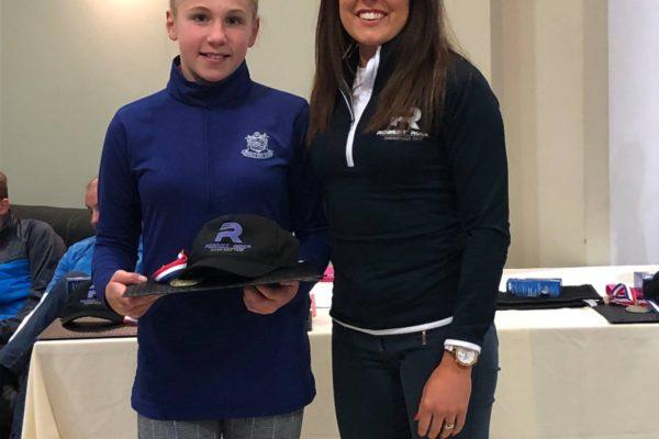 Lilia Marklew 9 hole Girls Winner