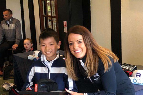 Mini Tour Under 10's winner Archer Lin