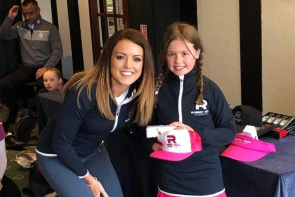 Millie Marsh 9 hole handicap girls runner up