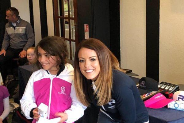 Mini Tour girls runner up Sophie Goonewardane Brown