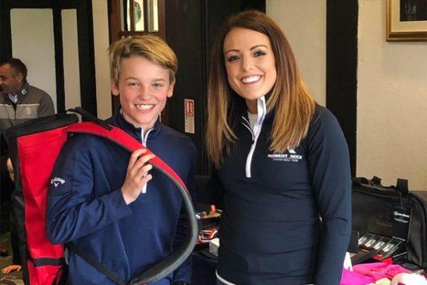 under 14's winner james hayle
